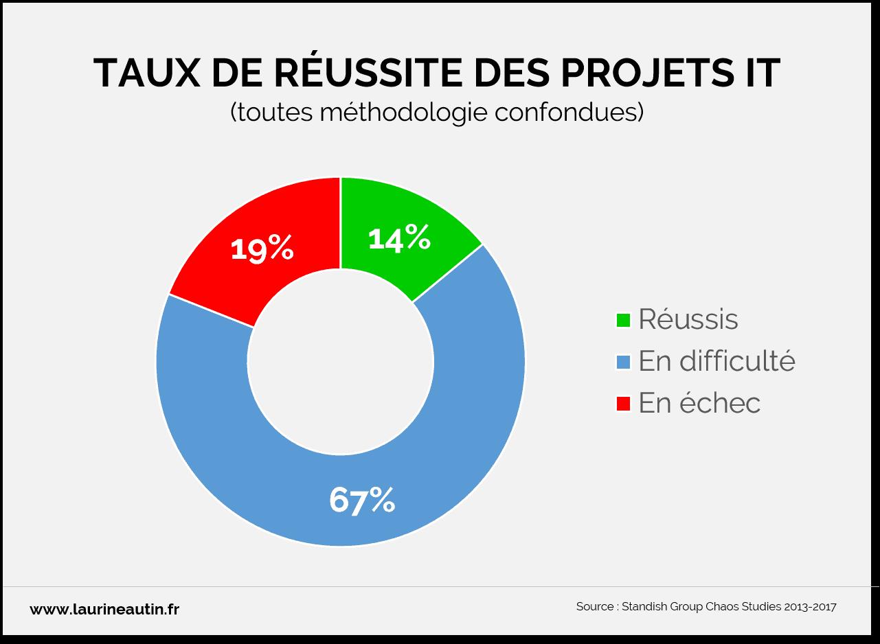 Taux de réussite des projets IT_rapport 2018