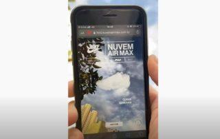 Nike a lancé une campagne AR Mobile pour les amateurs de sneakers au Brésil
