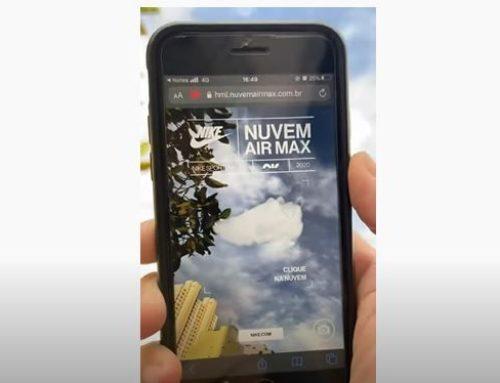 Comment Nike utilise la réalité augmentée et les nuages Brésiliens pour faire du buzz